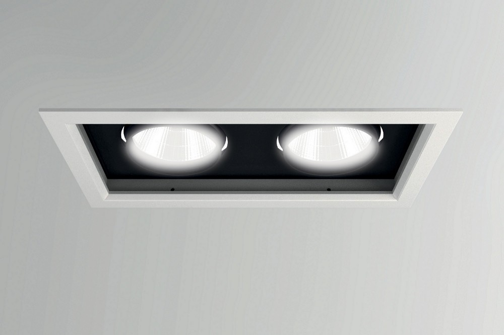 Plafoniera Led Da Incasso : Alrai led twin